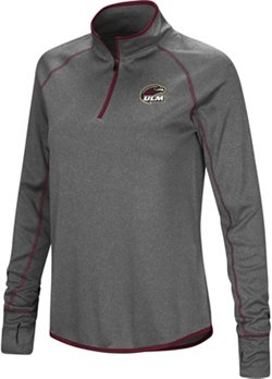 Colosseum Athletics Women's University of Louisiana at Monroe Shark 1/4 Zip Windshirt