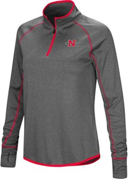 Colosseum Athletics Women's Nicholls State University Shark 1/4 Zip Windshirt