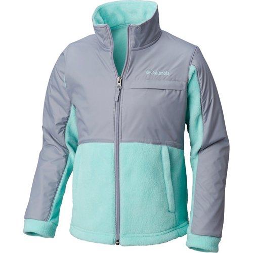 Columbia Sportswear Girls' Benton Springs III Overlay Fleece Jacket