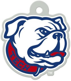 WinCraft Louisiana Tech University Freeform Acrylic Metallic Key Chain