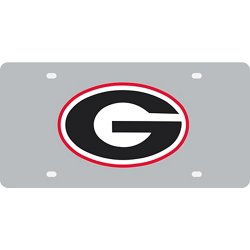 University of Georgia Acrylic Mirror Logo License Plate