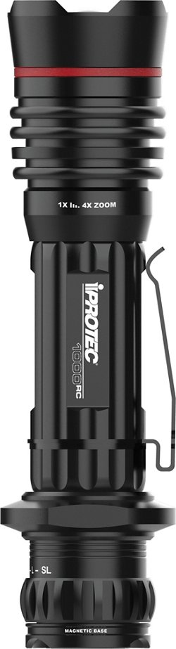 iProtec Pro Rechargeable LED Flashlight