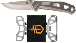 Gerber Airlift Folding Knife and Barbill Wallet Set