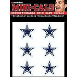 WinCraft Dallas Cowboys Face-Cals Decals 6-Pack