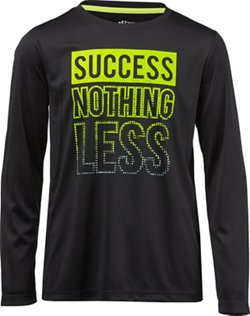 BCG Boys' Success Nothing Less Graphic T-shirt