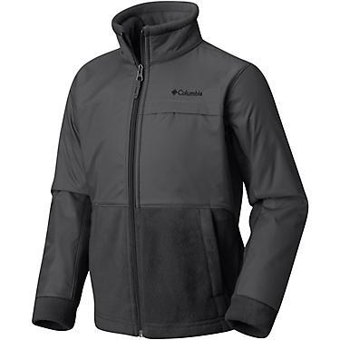 94b14a8ba5e Columbia Sportswear Boys' Steen Mountain Overlay Fleece Jacket