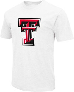 Colosseum Athletics Men's Texas Tech University Logo T-shirt