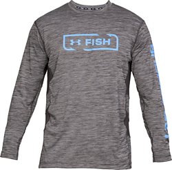Under Armour Men's Fish Hunter Tech Icon Long Sleeve Shirt