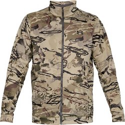 Under Armour Men's Stix Fleece Full-Zip Camo Sweater
