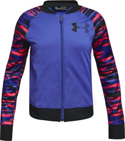 Girls' Graphic Track Jacket