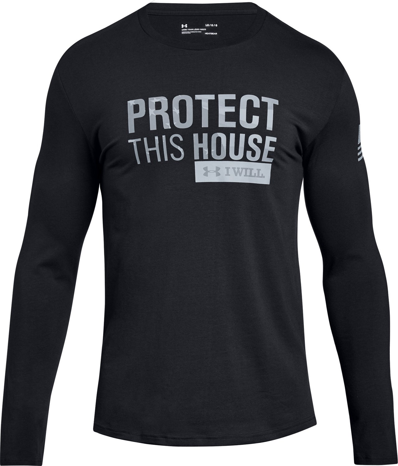 8f40e1a9 Under Armour Men's Freedom Protect This House T-shirt | Academy