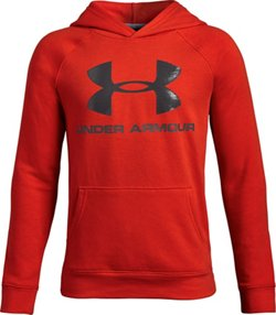Under Armour Boys' Rival Logo Hoodie