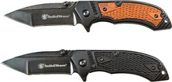 Smith & Wesson Pistol Grip 2-Knife Combo Pack