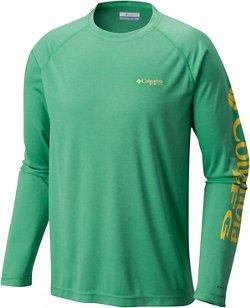 Columbia Sportswear Men's Terminal Tackle Big & Tall Heather Long Sleeve Shirt