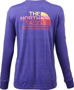The North Face Women's Mountain Lifestyle Tri-Blend Long Sleeve T-shirt