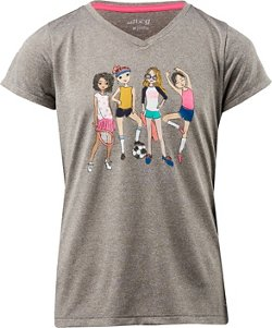 BCG Girls' Best Friends Turbo T-shirt