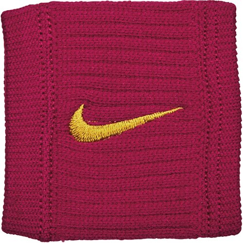 Nike Dri-FIT Reveal Wristbands Red Crush/Dark Citron - Basketball Accessories at Academy Sports