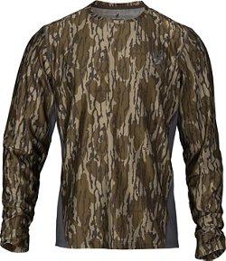 Browning Men's Hell's Canyon Speed Plexus-FM Long Sleeve Mesh T-shirt