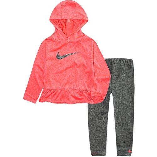 Nike Girls' Dri-FIT Heathered Top and Leggings Set