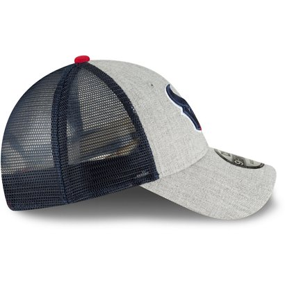 New Era Men s Houston Texans 9FORTY Heathered Turn Adjustable Cap ... a5d98fdc3