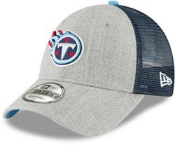 New Era Men's Tennessee Titans 9FORTY Heathered Turn Adjustable Cap