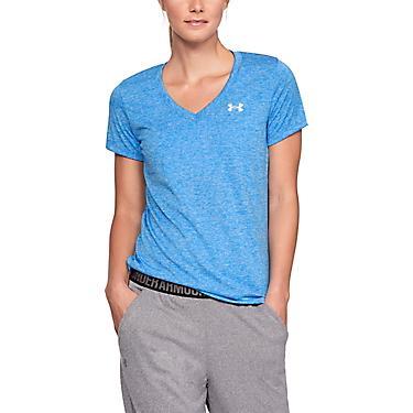 3e70826d45 Under Armour Women's Twisted Tech V-neck T-shirt | Academy