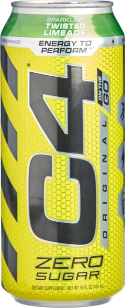 Cellucor C4 16 oz Original Carbonated Supplement