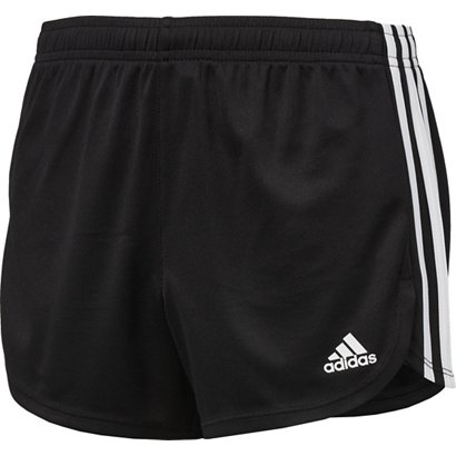69c213187a0b ... adidas Girls  3-Stripes Mesh Shorts. Girls  Shorts. Hover Click to  enlarge