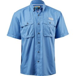 Men's Aransas Pass Window Check Short Sleeve Fishing Shirt