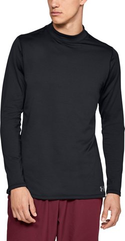 Under Armour Men's ColdGear Armour Fitted Mock Shirt