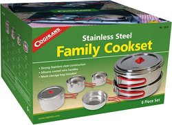 Stainless-Steel Family Cook Set