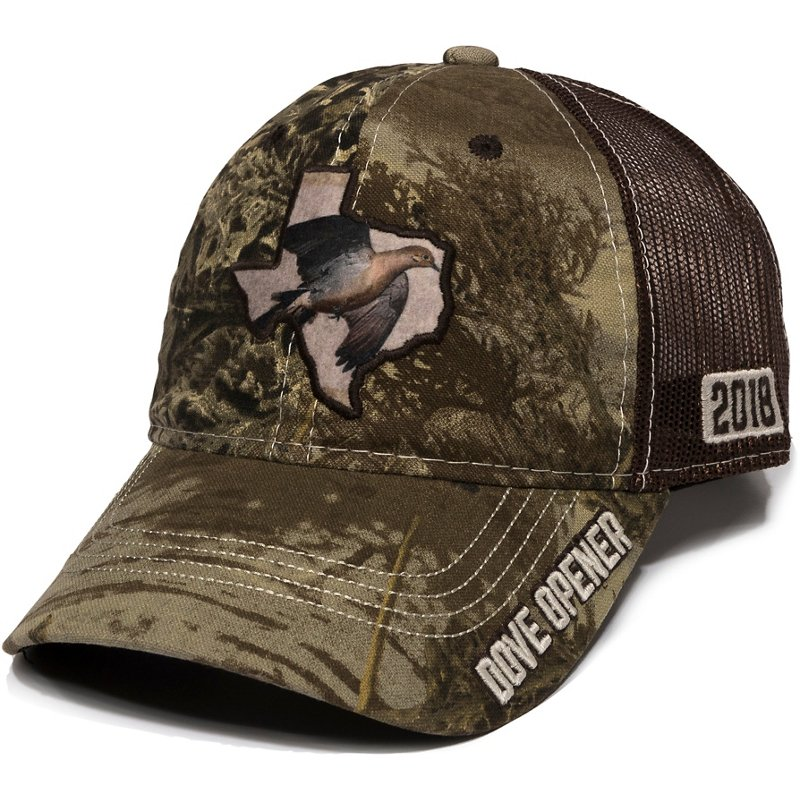 Outdoor Cap Men's Texas Dove Opener 2018 Mesh Back Camo Cap – Basic Hunting Headwear at Academy Sports