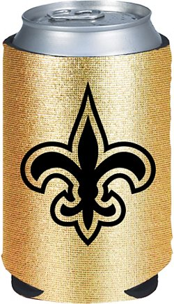 Kolder New Orleans Saints Metallic Gold Drink Kaddy