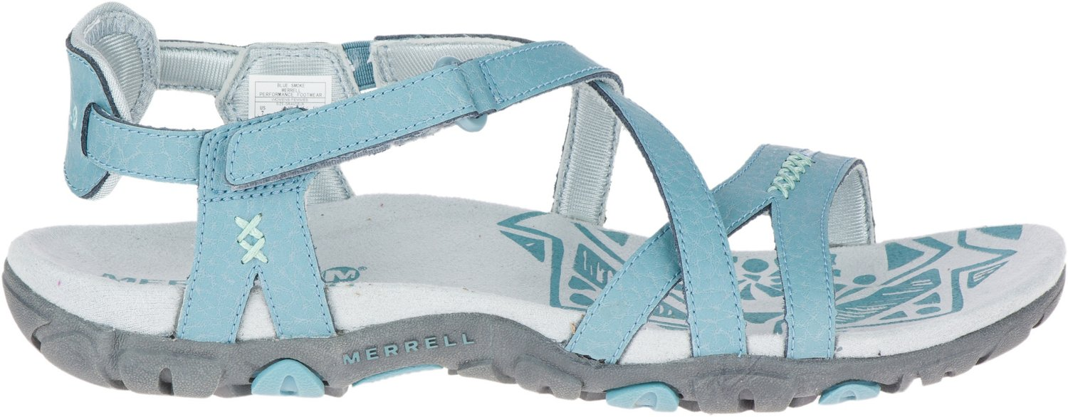 Leather Sandspur Women's Rose Sandals Merrell D9EHY2IW