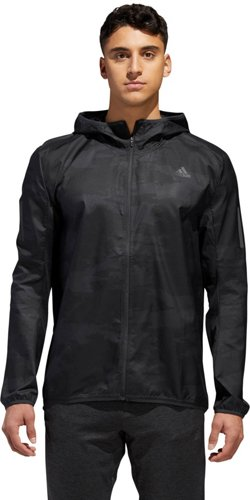 adidas Men's Response Graphic Hooded Wind Jacket