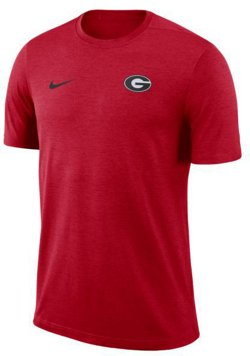 Nike Men's University of Georgia Dry Coaches Short Sleeve T-shirt