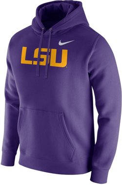 Nike Men's Louisiana State University Club Fleece Hoodie