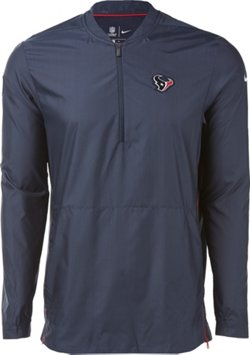 Nike Men's Houston Texans Lockdown 1/4 Zip Jacket