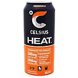 Celsius Heat Carbonated Preworkout Energy Drink