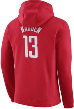 Nike Men's Houston Rockets James Harden No. 13 Fleece Hoodie