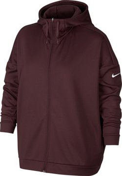 Nike Women's Dri-FIT Therma Plus Size Training Hoodie