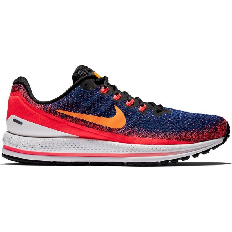 9187f8e6489 Nike Men s Air Zoom Vomero 13 Running Shoes (Blue Void Flash Crimson Black