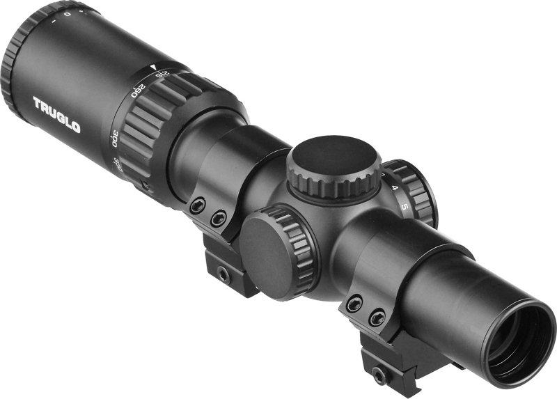 Truglo Opti-Speed 1 - 4 x 24 Velocity-Calibrated BDC Crossbow Scope Black - Optics, Scopes at Academy Sports thumbnail