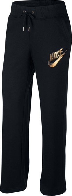Women's Metallic Fleece Pants