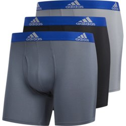 adidas Men's climalite Sport Performance Underwear 3-Pack