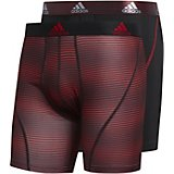 adidas Men's Sport Performance climalite Graphic Trunks 2-Pack