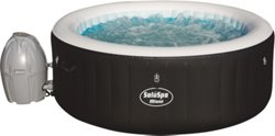 Bestway SaluSpa Miami 4.5 ft x 26 in Round Airjet Inflatable Spa