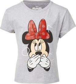 Disney Girls' Laugh Minnie T-shirt