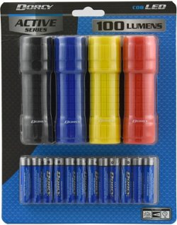 LED Flashlights 4-Pack