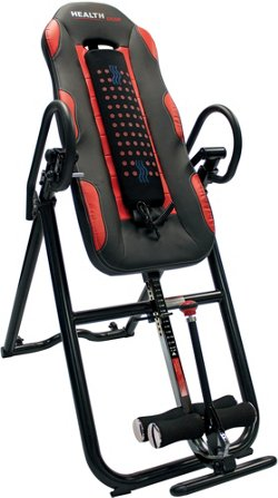 Health Gear Deluxe Inversion Table with Heat and Massage